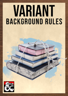 Variant Background Rules by The Dungeon Inn