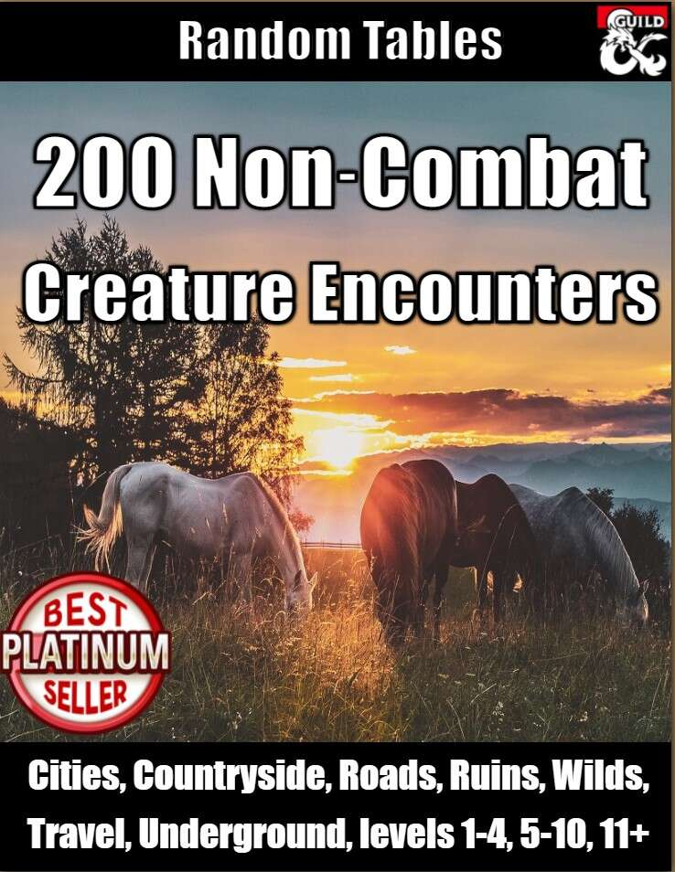 Non-Combat Creature Encounters
