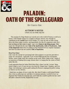 Paladin: Oath of the Spellguard