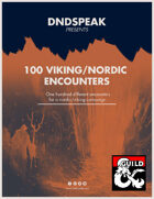 100 Nordic/Viking Encounters