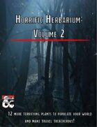Horrific Herbarium: Volume 2