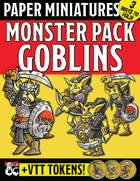 Paper Miniature Monster Pack: GOBLINS!