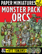 Paper Miniature Monster Pack: ORCS!