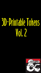3D-Printable Tokens Vol. 2