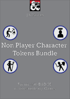 Non Player Character Token Bundle