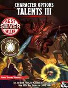 Character Options: Talents III 5E (Fantasy Grounds)
