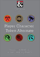 Player Character Token Bundle (Alternate)