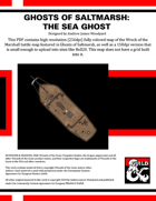 Ghosts of Saltmarsh: The Sea Ghost