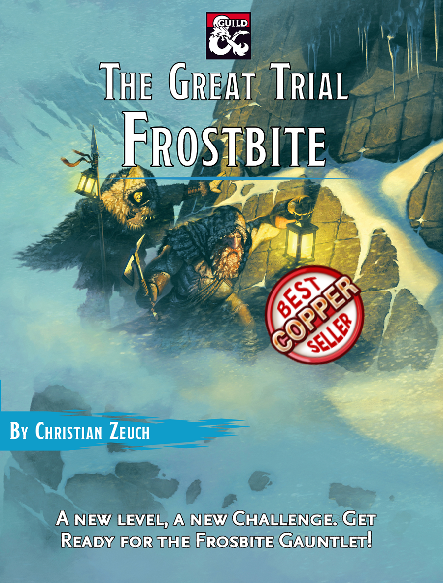 The Great Trial: Frostbite Cover