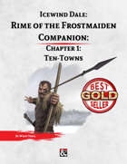 Rime of the Frostmaiden Companion 1: Ten Towns