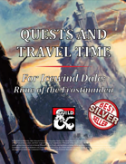 Quests and Travel Time for Icewind Dale: Rime of the Frostmaiden