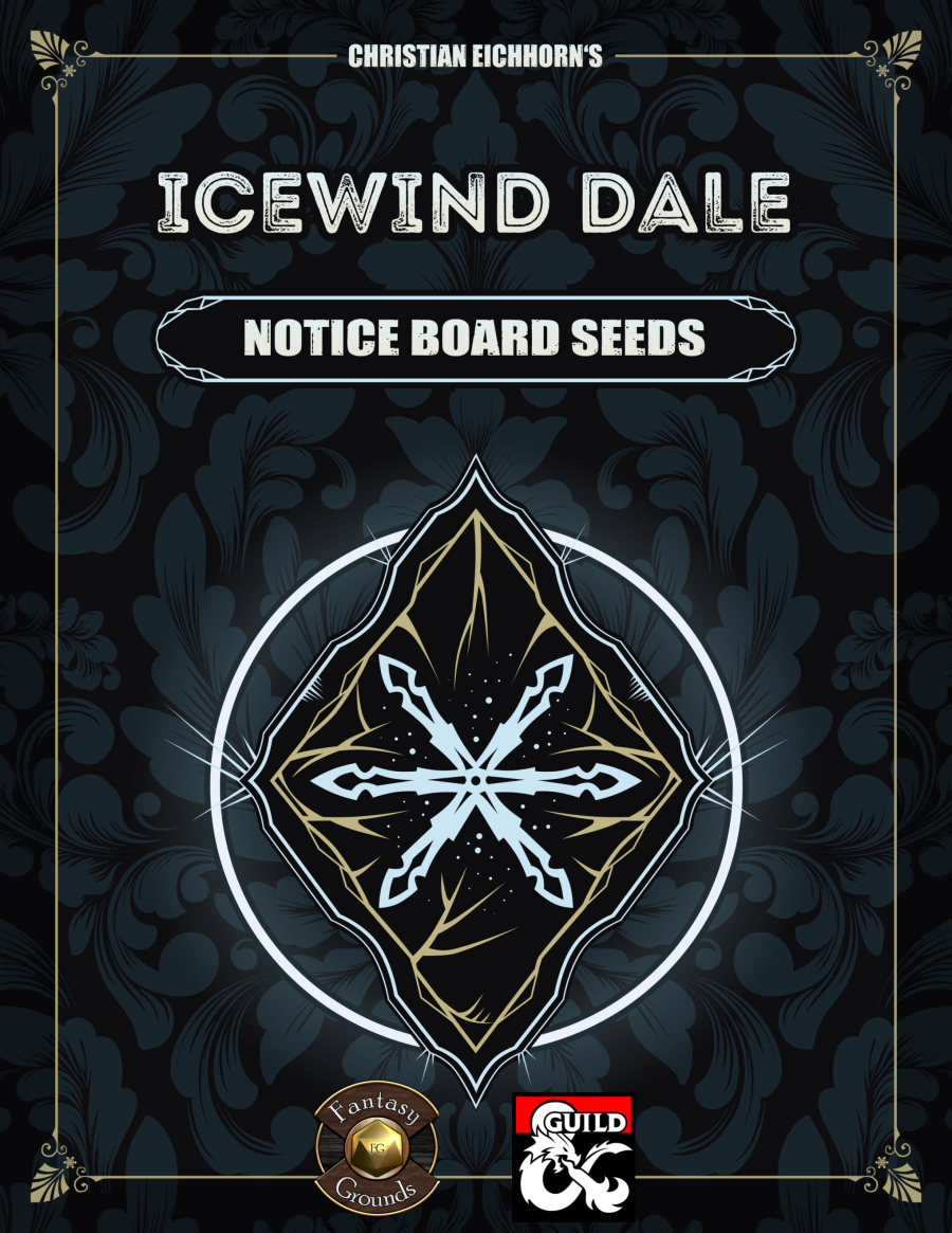 Icewind Dale: Notice Boards