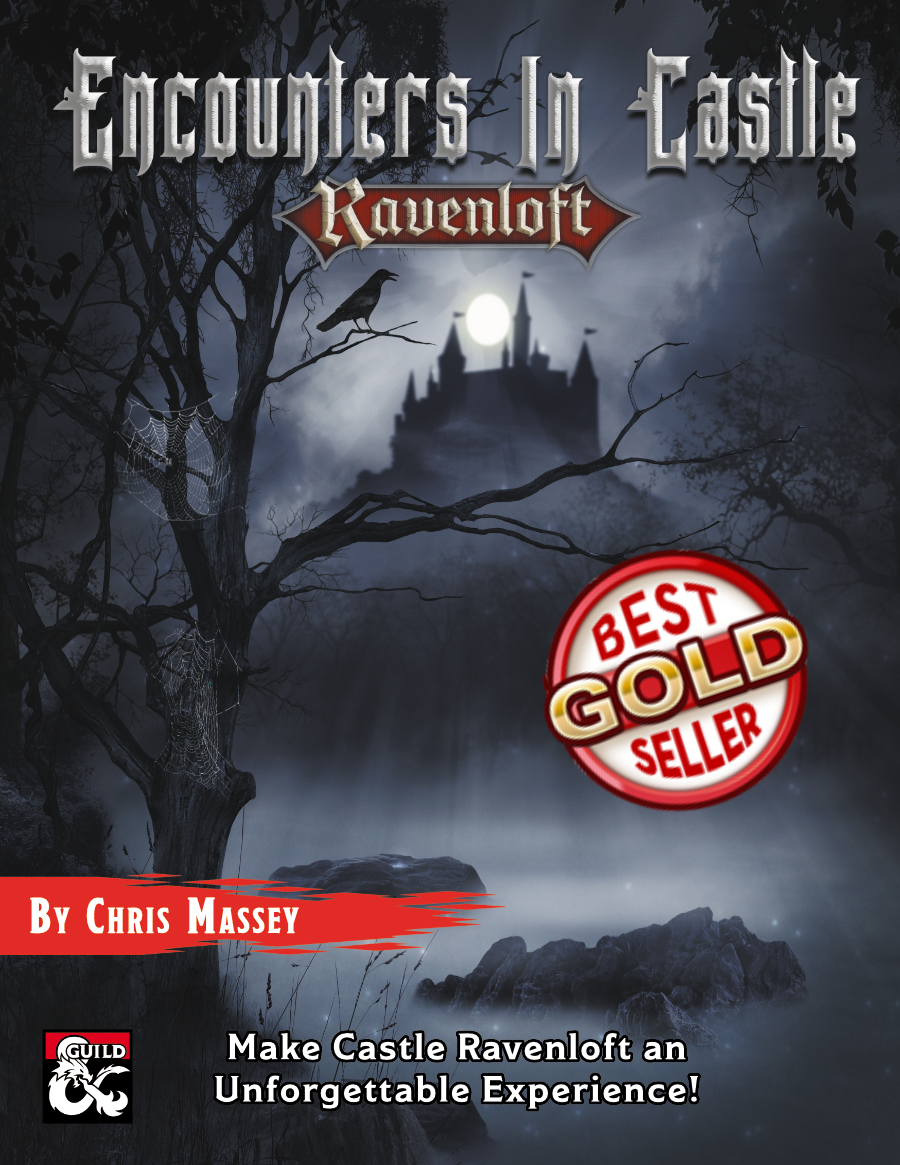 Cover for Encounters in Castle Ravenloft