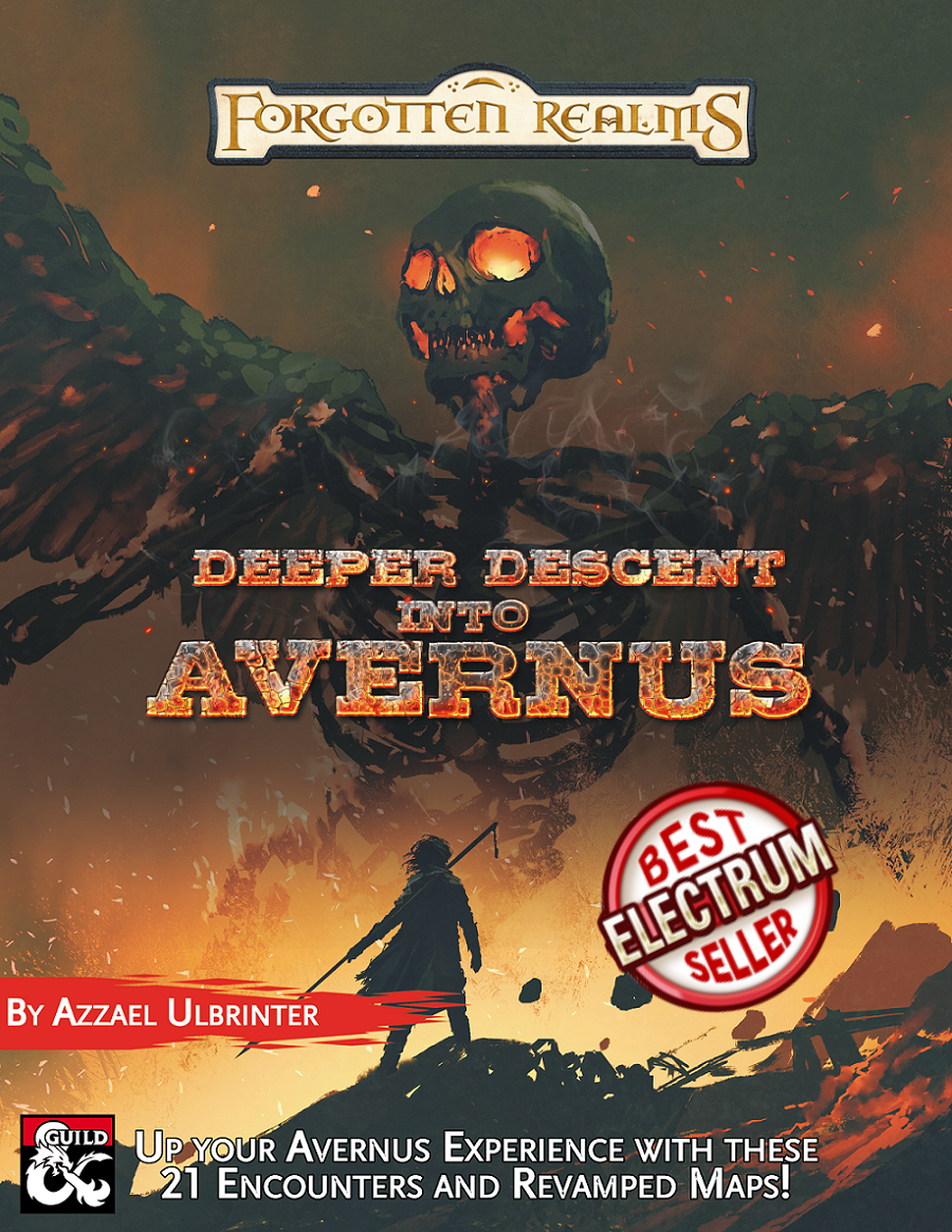 Deeper Descent into Avernus Cover