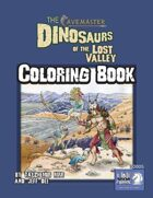 Dinosaurs of the Lost Valley Coloring Book