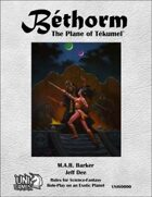 Bethorm: the Plane of Tekumel RPG