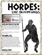 HORDES: The Bloodfang