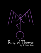 Risus: Ring of Thieves - A Free Fantasy Solitaire Adventure