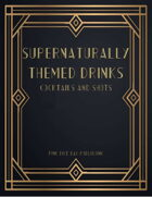 Supernaturally Themed Drinks