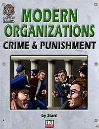 Modern Organizations: Crime and Punishment on DriveThruRPG.com