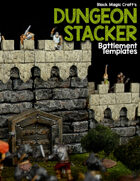 Dungeon Stacker - Battlement Template