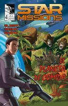 STAR MISSIONS - #4 The Food Planet (SPANISH) (Variant Cover)