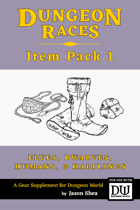 Dungeon Races - Item Pack 1