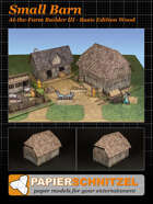 Small Barn At-The-Farm III BASIC EDITION WOOD