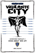 SURVIVE THIS!! Vigilante City - Adventure Pamphlet 1 - Ninja Beat 'em up!