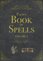 Pagius Book of Spells - Volume 1