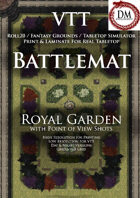 VTT Battlemap - Royal Garden