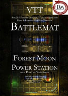 VTT Battlemap -  Forest Moon Power Station