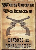 Western Tokens, Cowboys and Gunslingers