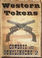 Western Tokens, Cowboys and Gunslingers 2