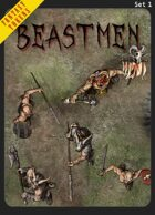 Fantasy Tokens Set 1: Beastmen