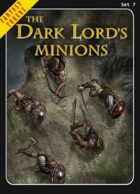 Fantasy Tokens Set 7: The Dark Lord's Minions