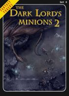 Fantasy Tokens Set 8: The Dark Lord's Minions 2
