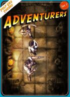 Pulp Era Tokens Set 7 Adventurers