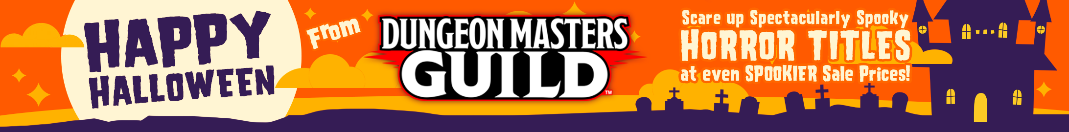 Spooky sale prices @ Dungeon Masters Guild