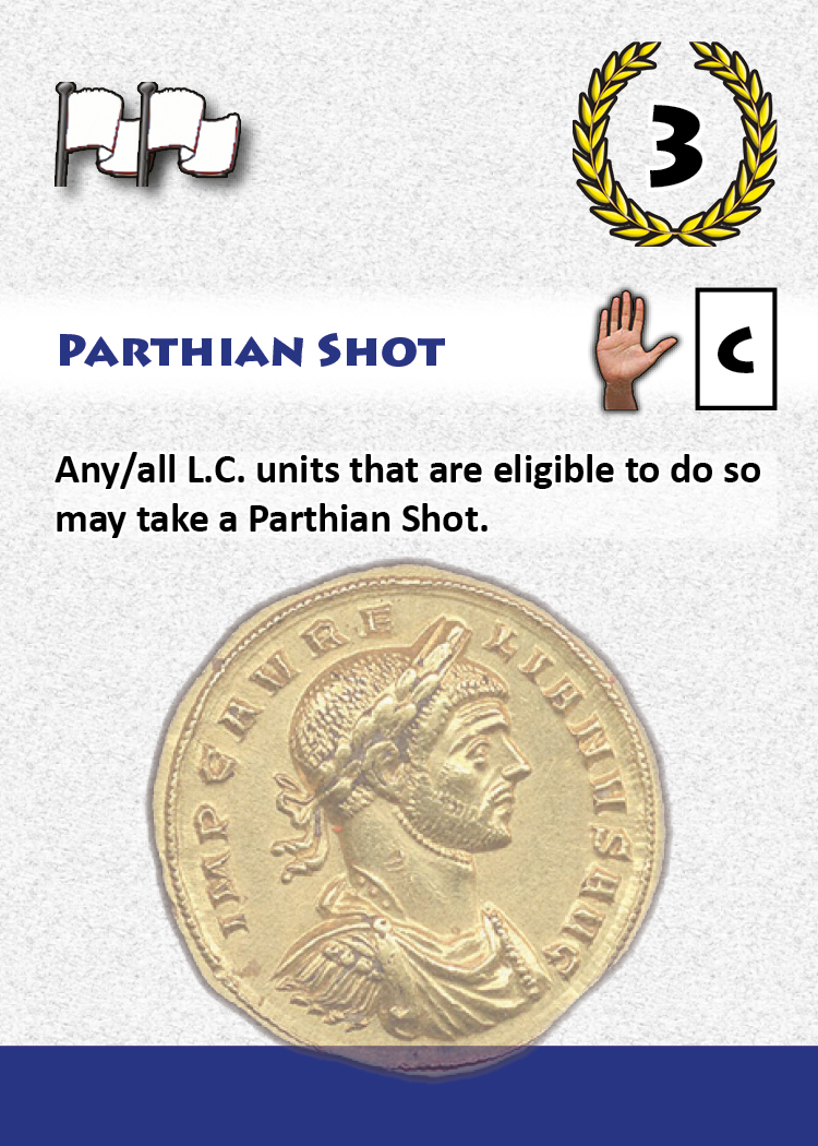 Parthian Shot - A Persian Card